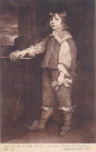 Van Dyk Le Prince Charles II d'Angleterre Musee D'Anvers