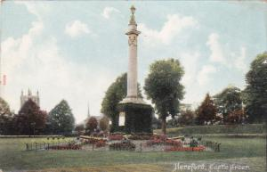 HEREFORD, Herefordshire, England, 1900-1910's; Castle Green