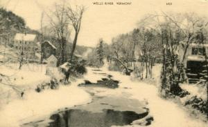 VT - Wells River. View of the River
