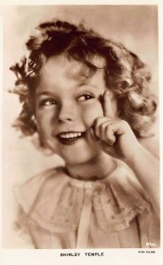 Shirley Temple Smiling A Milton Real Photo Postcard 101