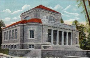 Sheldon Library,St. Paul School,Concord,New Hampshire,PU-1910