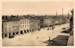 Czech Republic Zwittau Stadtplatz 02.45