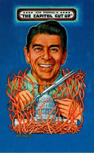 Political Humour Ronald Reagan The Capitol Cut Up