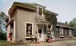 ME - Christmas Cove. The Santa Claus Shop