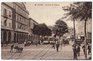 Tunis - Avenue de France