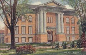 MOLINE, Illinois, 1901-07; Moline Public Library