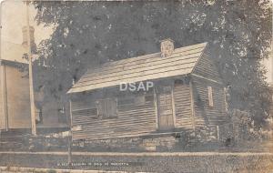 C9/ Marietta Ohio Real Photo RPPC Postcard c1910 Oldest Building in Ohio