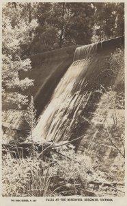 Falls at the Reservoir Belgrave Victoria Australia Old Postcard