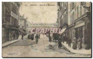 Troyes Old Postcard Square Hosiery