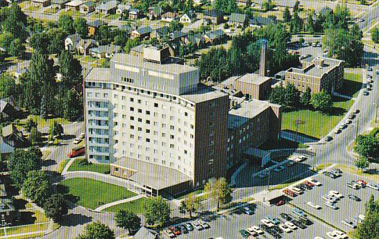 Canada Aerial View St Mary's General Hospital Kitchener Ontario
