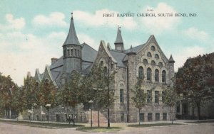 SOUTH BEND, Indiana, 1900-10s; First Baptist Church