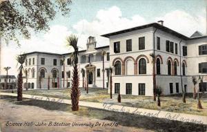 8214   FL De Land John B. Stetson University    Science Hall,