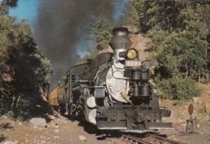 Trains Narrow Gauge Locomotive #478 Durango Colorado