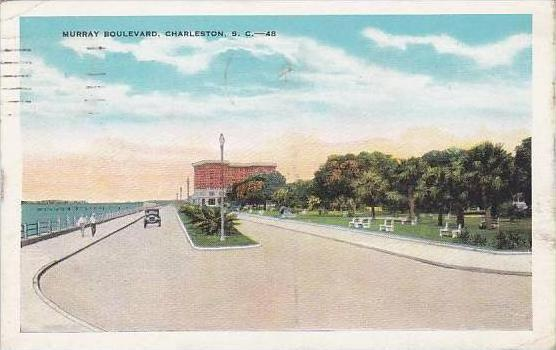 South Carolina Charleston Murray Boulevard 1931