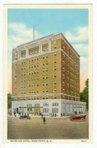 Sherton Hotel, High Point, North Carolina, 30-40s