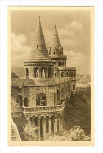 RP  Budapest , Hungary, 30-50s   Fischerman's bastion