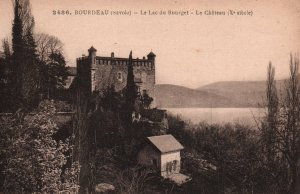 Le Lac du Bourget,Le Chateau,Bourdeau,France BIN