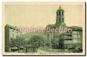 Postcard Old illustrates Tarn Mazamet Eglise St Savior