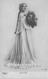 Edna May Theater Actor / Actress Unused