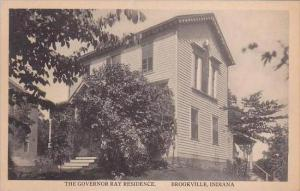 Indiana Brookville The Goveror Ray Residence