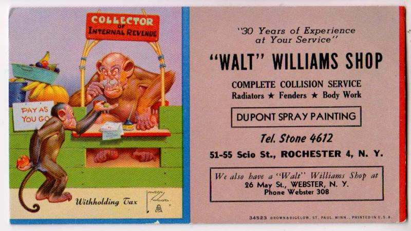 Walt Williams Shop, Complete Collision, Rochester NY