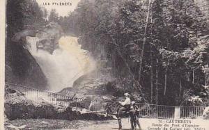France Cauterets Route du Pont d'Esoagne Cascade du Cerisey