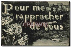 Old Postcard To me closer to You