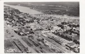 RP: PRINCE ALBERT , Sask., Canada , 1910-30s ; air view