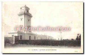 Old Postcard Le Havre Le Phare De Sainte-Adresse
