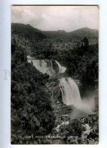 191957 CEYLON TALAWAKELLE St.Clairs falls Old photo postcard