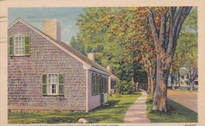 Massachusetts Cape Cod Quaint Homes On The Kings Highway 1938