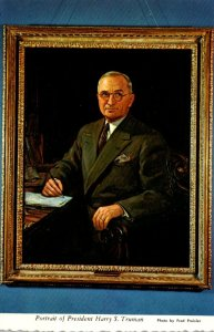 Missouri Independence Harry S Truman Library and Museum Portrait Of President...