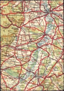 germany, KARLSRUHE MANNHEIM, Baden-Württemberg, MAP pc
