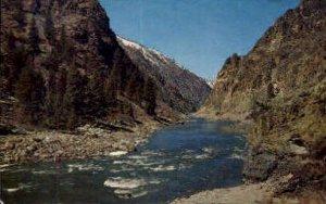 River of No Return - Salmon River, Idaho ID