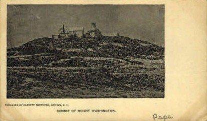 Mount Washington - Mount Washingtons