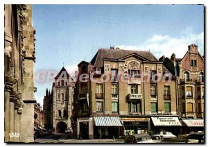 Old Postcard Saint Quentin Aisne Basilica for the hotel de Ville