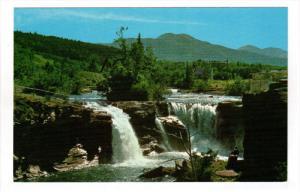 LUNDBRECK FALLS, Alberta, Canada; Castle River alongside Highway #3, 40-60s