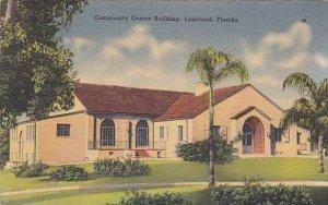 Florida Lakeland The Community Center Building
