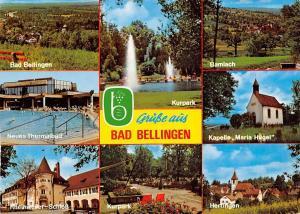 Bad Bellingen multiviews Kurpark Bamlach Schloss Neues Thermalbad Kapelle