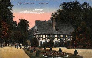 Poland Bad Salzbrunn Szczawno-Zdrój Wiesenhaus Postcard