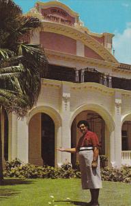 SUVA, Fiji, 1940-1960's; Nacanieli Vunibola Grand Pacific Hotel's Famous Comm...
