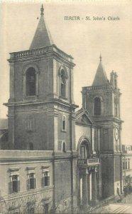 malta st john's church