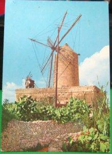 Malta Il Mithna Zaghra Gozo Old Windmill - unposted