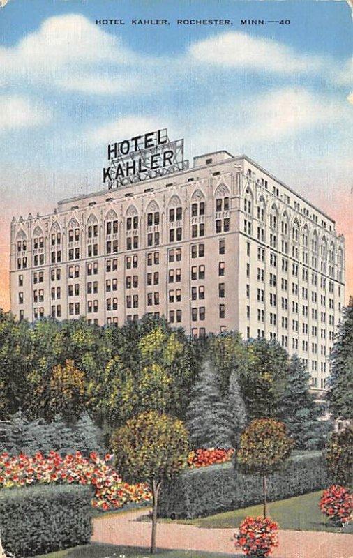 Hotel kahler  Rochester,  MN