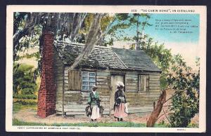 'De Cabin Home' in Dixieland 2 Black Women Used c1936
