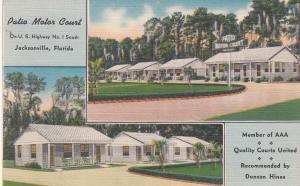 JACKSONVILLE , Florida , 30-40s ;  Patio Motor Court