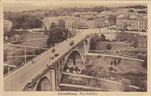 Bridge, Pont Adolphe, Luxembourg, 1900-1910s