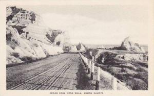 South Dakota Wall Cedar Pass Albertype