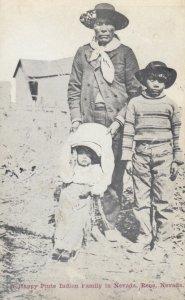 Piute Indian Family , RENO , Nevada , 1900-10s