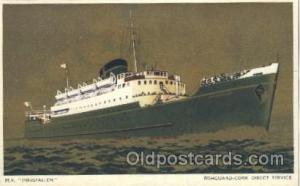 M.V. Innisfallen Steamer, Steamers, Ship, Ships Postcard Postcards Unused